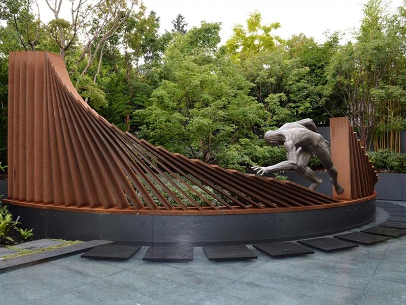公园人物雕塑