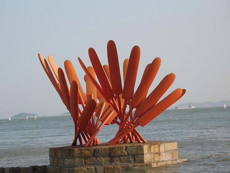 不锈钢水景雕塑